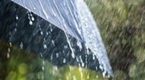 Rain has finally arrived