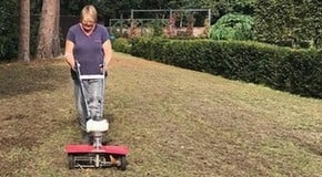 Weeding, Scarifying and Pruning