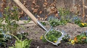 Weekly Kitchen Garden Blog - mulching the raised beds