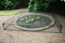 Harrod Slot and Lock® Raised Aluminium Pond Covers