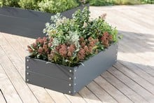 Harrod Standard Metal Raised Beds - Anthracite Grey