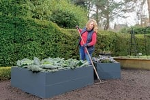 Harrod Superior Metal Raised Beds - Anthracite Grey