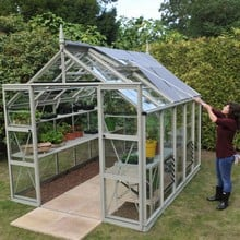 Additional Exterior Greenhouse Blinds