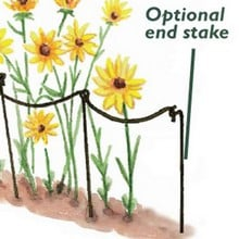 End Stakes for Scallop & Curved Link Stakes