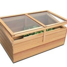 Essential Cedar Coldframe by Gabriel Ash
