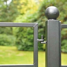 Estate Fence Gate - Arc Design