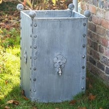 Galvanised Steel Water Butt 185 litres