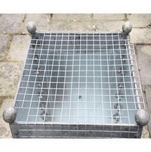 Galvanised Steel Water Butt 320 Litre