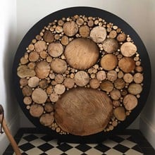 Harrod Circular Steel Log Holder (Floor Standing)