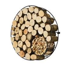 Harrod Circular Wire Log Holder (Wall Mounted)
