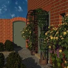 Harrod Ellipse Door Canopy