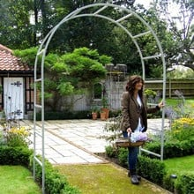 Harrod Roman Garden Arch - Silk Grey