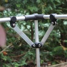 Harrod Slot & Lock® Brace Kits Aluminium Finish