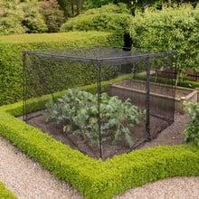 Harrod Slot & Lock® Storm Proof 1.8m Walk In Fruit Cage (Black)