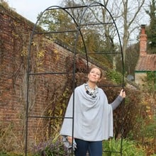 Harrod Vintage Roman Wire Arch - Matt Black