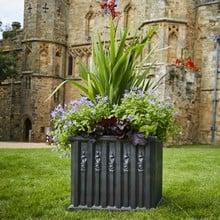 Heritage Ornate Box Planter (set of 2)