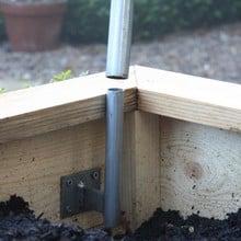 Hoop Brackets for Wooden Raised Beds (Set of 4)