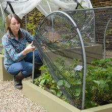 Hoops & Butterfly Net Cover for Standard Metal Beds