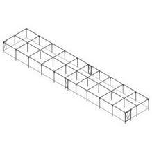 Large Rectangular Fruit Cage - Bespoke Design