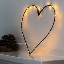 LED Heart Decoration with auto timer