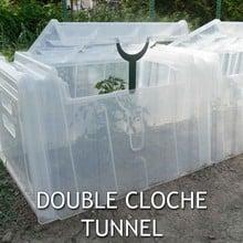 Mini Greenhouse Cloche Tunnels