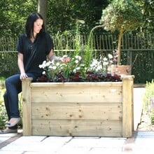 Rectangle Wooden Planters