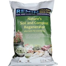 REMIN Volcanic Rock Dust - 20kg Bag