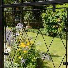 Roman Half Lattice Standard Garden Arch