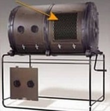 Sifter Screen for 700Ltr Double Chamber Compostumbler