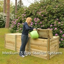 Slot and Slide Compost Bins