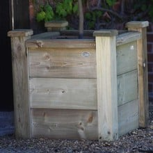 Square Wooden Planters