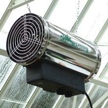 Stainless Steel Phoenix 2.8kW Fan Heater