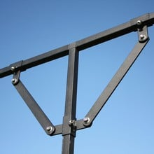 Steel Fruit Cage Mid Brace