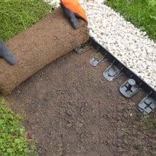 Stella Green Flexible Lawn Edging