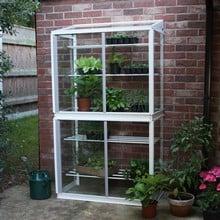 Superior Lean-To Double Mini Greenhouse