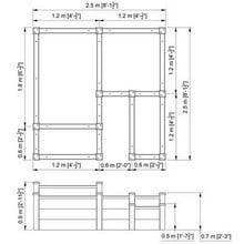 Superior Raised Beds Multi Tier - Bespoke Design