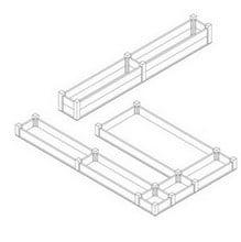 Superior Raised Beds U Shape - Bespoke Design