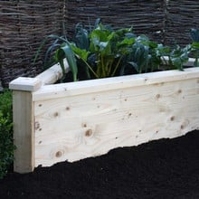 Triangle Wooden Planters