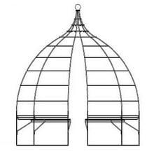 Wire Gazebo with Integral Seating-Bespoke Design