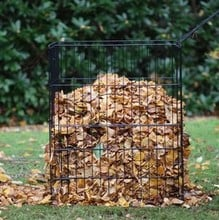 Wire Leaf Composter