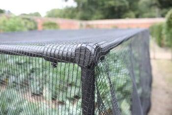 Harrod Slot & Lock® Black Vegetable Cage (1.2m H)