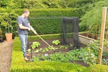 Harrod Stormproof (Black 1.5m H) Frame Saver Vegetable Cage
