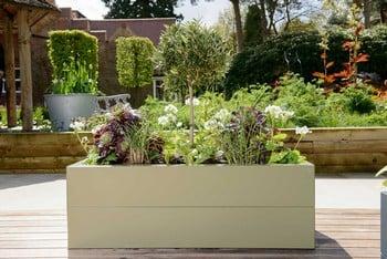 Harrod Superior Metal Raised Beds - Heritage Green