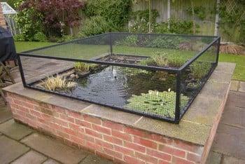 Raised Steel Pond Cover