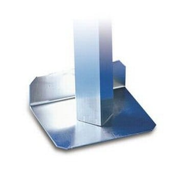 Aluminium Greenhouse Staging Foot Plates