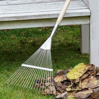 Burgon and Ball Spring Tine Lawn Rake