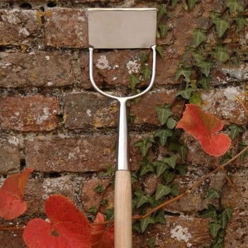 Burgon and Ball Stainless Steel Dutch Hoe