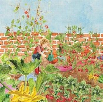 Childrens Vegetable Garden