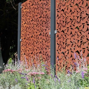 Corten Steel Panels (Branches Design)