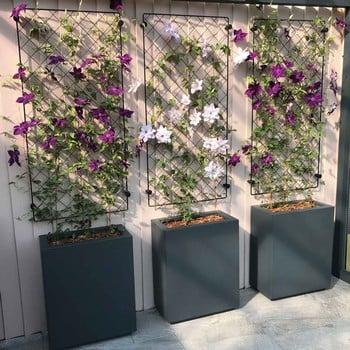 Diamond Lattice Wall Trellis Panel